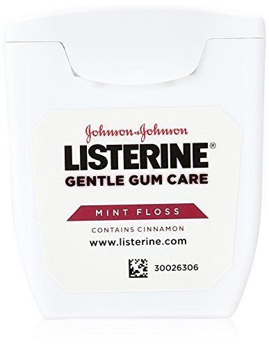 Listerine Gentle Gum Care Woven Floss 50 Yards (Pack of 4) by Listerine