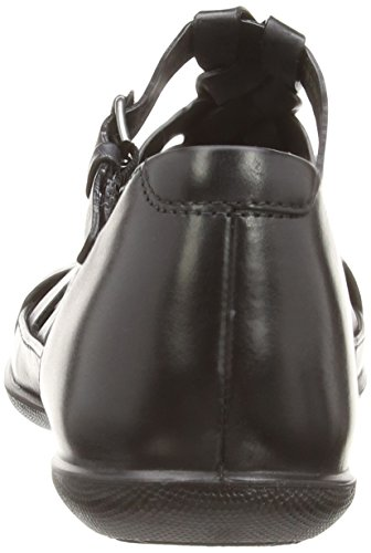 ECCO - Ecco Flash 2407930, Sandali Donna Nero (Black)