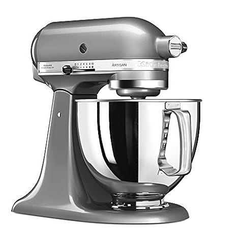 Kitchen Aid Artisan - Kitchenaid 5KSM125ECU Robot pâtissier multifonctions Gris 4,8