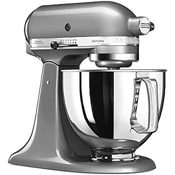 Amazon.de: Kitchenaid KSM150PSEMC Artisan Küchenmaschine chrome ...