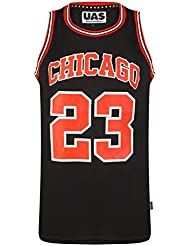 155e9c41ad0 UrbanAllStars Mens American US Style Basketball Jerseys Miami NY Chicago LA  Brookly Vests Tops Sleevless T