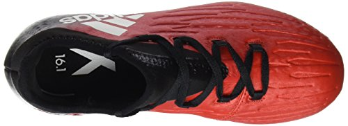 adidas X 16.1 Fg J, Chaussures de Football Entrainement garçon rouge/blanc/noir