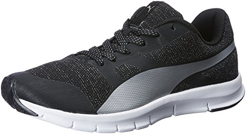 Buy Puma Women s Flexracer Gleam Wns Idp Puma Black and Puma Silver Running  Shoes - 3 UK India (35.5 EU) on Amazon  0668c5ff71