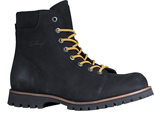 Lundhags Logger Suede Boot Freizeitschuhe (Black), EU 46 Logger Boots