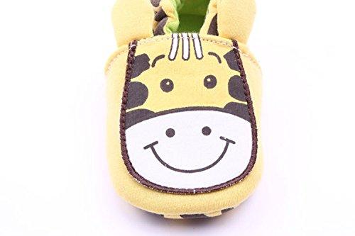 xhorizon® Baby Kinder PU LederStoffKleinkindSchuhe Sandale Gelb Kuh