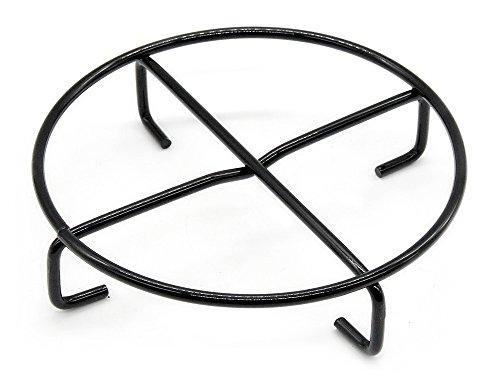 Santos Dutch Oven Untersetzer - Durchmesser 20 cm - Emaillierter Stahl - Dutch Oven Feuertopf Untergestell - einsetzbar für Santos, Petromax, Lodge, Skeppshult