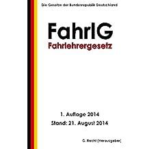 Fahrlehrergesetz - FahrlG
