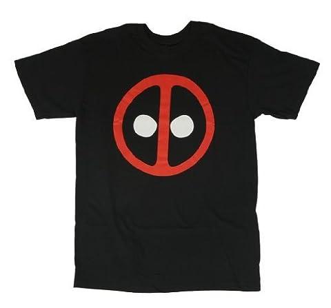 Deadpool Icon tee T-shirt pour adulte Noir, noir, XXL