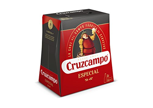 Cruzcampo Special Beer - Pack of 6 Bottles x 250 ml - Total: 1.5 L