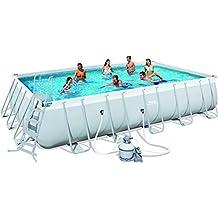 Escaleras de piscinas desmontables for Piscinas desmontables en amazon