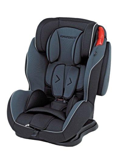 Foppapedretti dinamyk 9-36 seggiolino auto per bambini di 9-36 kg, antracite