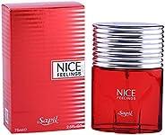 SAPIL Nice Feeling Red Men's- Perfume,