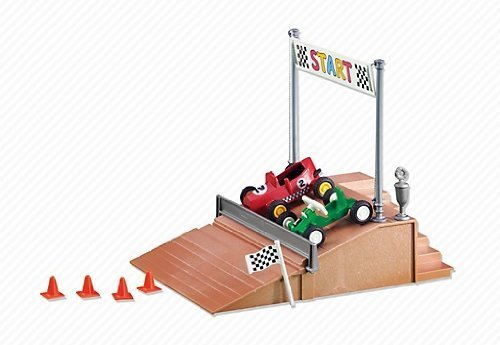 Playmobil - 6347 - Kart Racers - Course de Caisse à Savon