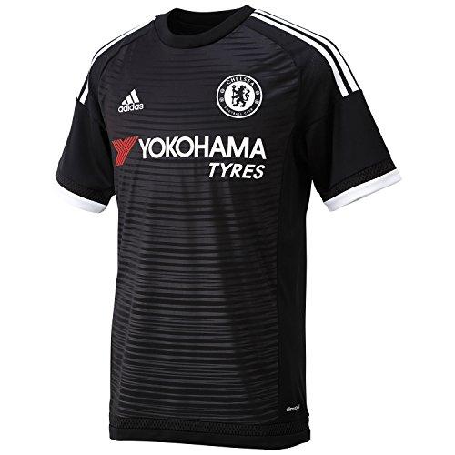 adidas Herren Trikot FC Chelsea Ausweich Replica, Black/White, S, AH5113 (Replica Chelsea Kit)