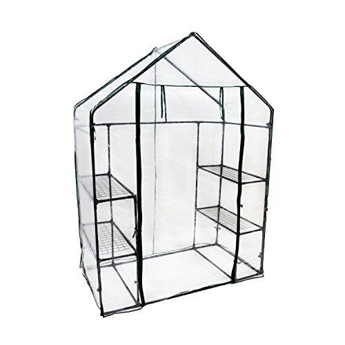 Oypla 3-Tier 4 Mini Shelf Walk-in Serre Jardin Maison de Culture