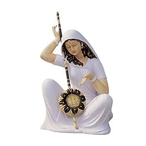 Design Toscano Gemächliche Mira Bai, Figur