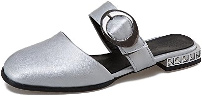 QIN&X Donna Tacco Basso Cinturino alla Caviglia Sandali | Vendendo Bene In Tutto Il Mondo  | Scolaro/Ragazze Scarpa