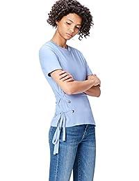 FIND T-Shirt Col Ras du Cou  Femme