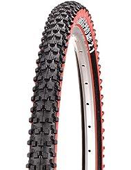 Panaracer Fire XC Pro Plegable MTB neumáticos, Color Negro/Rojo, tamaño 26 x