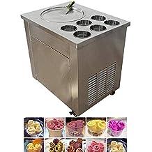 TX® 13.77 Máquina de Helado Frito Comercial para Hacer Helado Frito para Yogurt