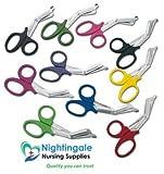 immagine prodotto Lister resistente Cut Forbici per bendaggi, 19,05 cm (7,5') grande, disponibile in diversi colori, Nightingale Nursing Supplies Branded