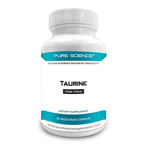 Pure Science Taurine 1000mg - 50 Capsules végétariennes