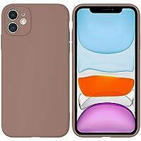 LARPOTE Funda iPhone 11, Case para móvil en TPU Silicona Ultradelgado Anti-Choque para Apple iPhone 11 - marrón