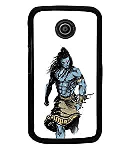 printtech Lord God Shiva Design Back Case Cover for Motorola Moto E XT1021::Motorola Moto E (1st Gen)