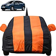 Autofact Car Body Cover for Maruti Baleno (2015 to 2019) with Mirror and Antenna Pocket (Light Weight, Triple