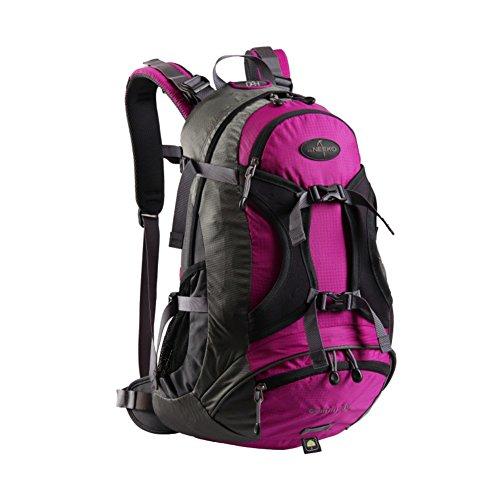 Zaino outdoor alpinismo/Borse di massa impermeabile/Zaino da viaggio/escursione-Army Green 30L rosso