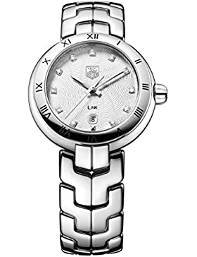 TAG Heuer Damen-Armbanduhr Analog Quarz Edelstahl WAT1411.BA0954