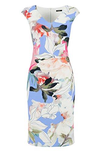 Roman Originals Women's Floral Scuba Print Dress