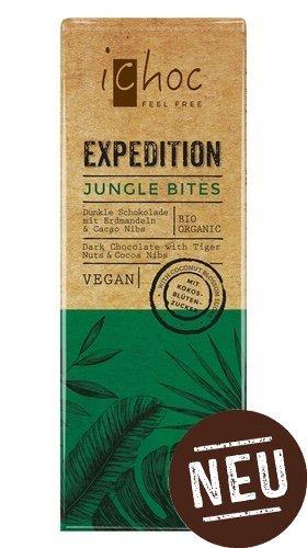 10er Pack iChoc EXPEDITION Jungle Bites, 50 g - Vivani - AB 30,- EURO VERSANDKOSTENFREI in D!
