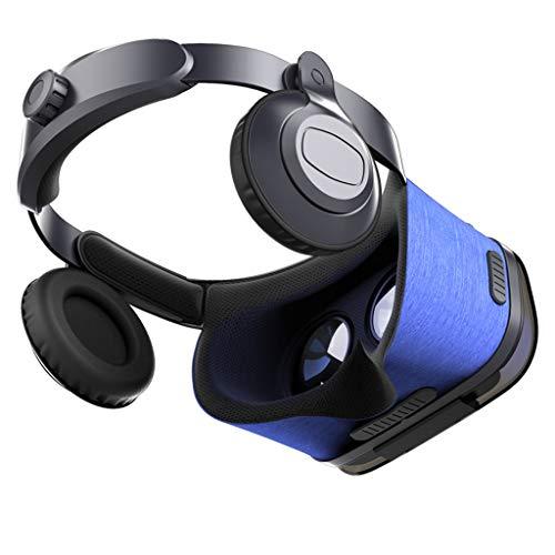 EGCLJ 3D VR Headset Brille Virtual Reality Headset 360 ° Immersives Theater Mit WiFi Und Bluetooth VR-Filmen, Videospielen