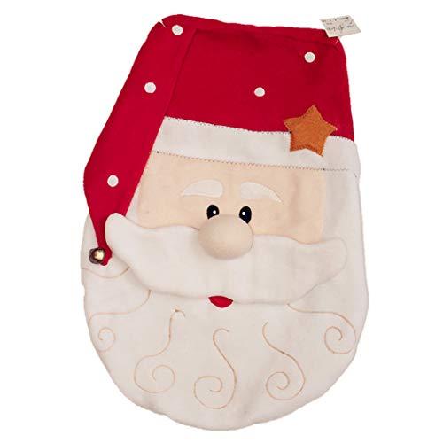 Justdolife Coperchio Del Coperchio Del Bagno Coperchio Del Sedile Del WC Decorativo Carino Natale Decorativo