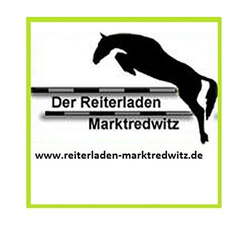 Kieffer Reithalfter Ultra Soft englisch Kinnpolste Größe/Farbe WB/schwarz