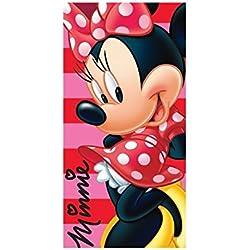 Minnie - Drap de plage 100 % Coton 70X140 cm