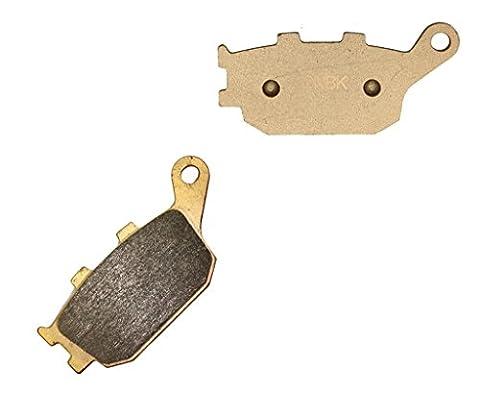Rear Sinter Disc Brake Pads for HONDA Street VT1100 VT 1100 C2Y 00 &up 2000 &up 1 Pair(2 Pads)