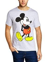 Logoshirt Herren T-Shirt Disney - Mickey Mouse Retro, Rundhals