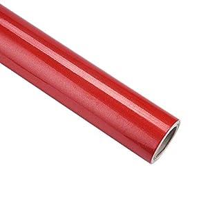 iHENGH Hot Seller Kind Color Shiny Furniture Refurbished Stickers Pvc Removable Wallpaper Home De(Red)