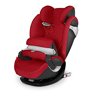 Cybex Pallas M-Fix - Silla de coche, grupo 1/2/3 (9-36 kg, 9 meses-12 años), con Isofix, color rojo [Colección 2015] (B00O48M5SY) | Amazon price tracker / tracking, Amazon price history charts, Amazon price watches, Amazon price drop alerts
