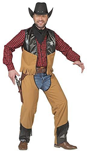 Cowboy Austin Kostüm für Herren Gr. 52 54