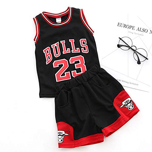huge selection of 3621b 57942 unbrand Enfant garçon NBA Michael Jordan   23 Chicago Bulls Short de Basket-Ball  Retro