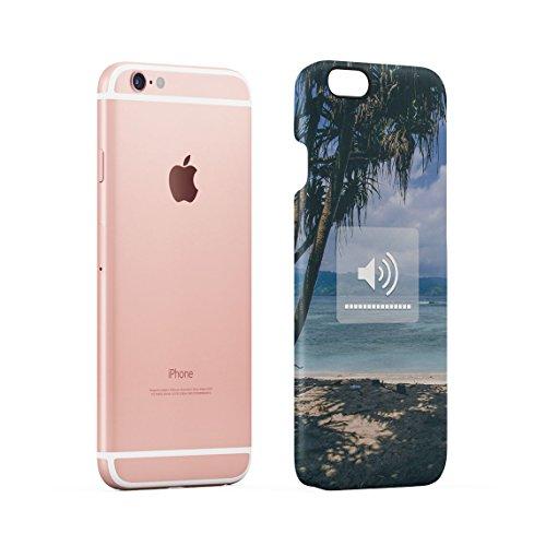 Funny Zitat I Need Vitamin SEA Tropical Paradise Chill Dünne Rückschale aus Hartplastik für iPhone 5 & iPhone 5s & iPhone SE Handy Hülle Schutzhülle Slim Fit Case cover Ocean Sounds