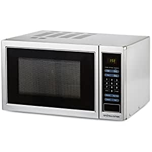 Andrew James Microwave Oven Digital 23 litre 900W Silver