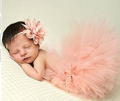 Für Neugeborene Kostüm Babys - 5Five Neugeborenes Baby Rock Tutu Kleidung Trikot Kostüm Foto Prop Outfits Bekleidung Set