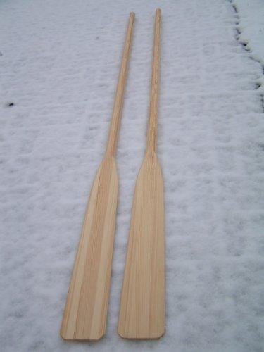 Paar Holz-Ruder 2,40m Länge