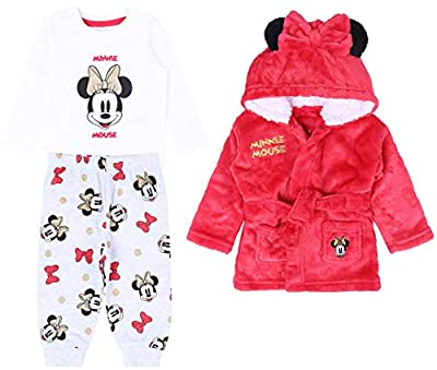 -:- Minnie Mouse -:- Disney -:- Pijama + Bata roja