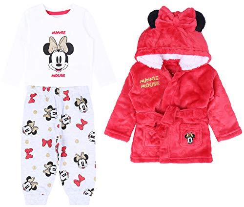 :  Minnie Mouse  :  Disney  :  Pijama + Bata roja