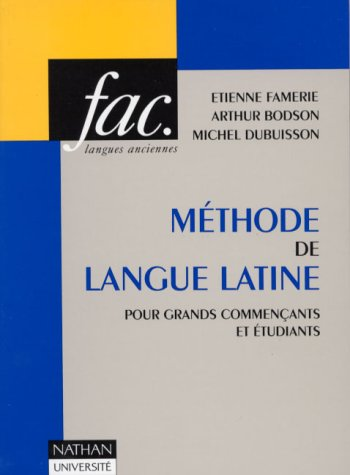 Méthode de la langue latine